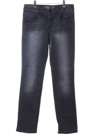 Tom Tailor Jeans a vita alta nero stile casual