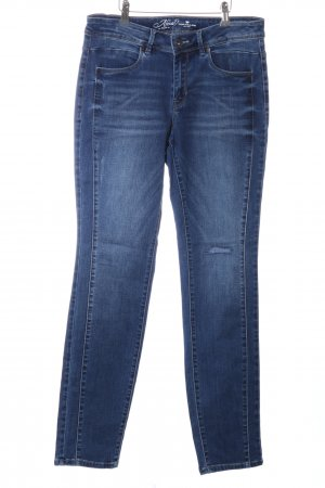 Tom Tailor Jeans a vita alta blu stile casual