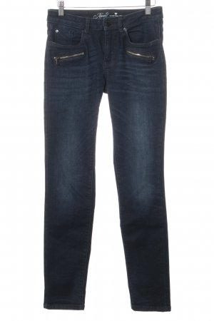Tom Tailor High Waist Jeans dunkelblau Casual-Look