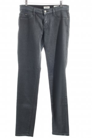 Tom Tailor Hose grau Glanz-Optik