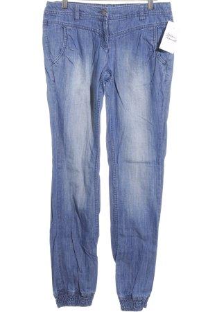 Tom Tailor Hüftjeans blau Street-Fashion-Look
