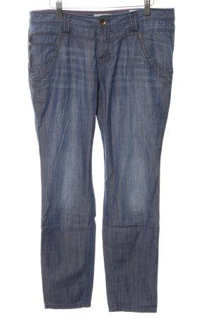 Tom Tailor Hüftjeans blau Casual-Look