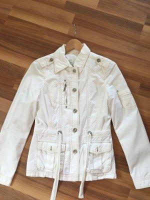 Tom Tailor Jacke Frühling/Sommer Damen weiß, Größe 36 S