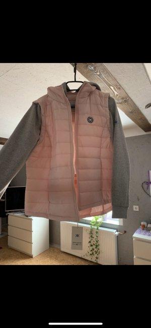Tom Tailor College Jacket pink-light grey