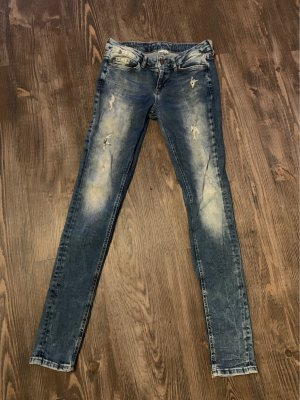 Tom Tailor Denim Low Rise jeans blauw