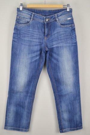 Tom Tailor Jeans dreiviertel blau Größe 29 1708370390497