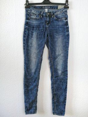 Tom Tailor Jeans Extra Skinny blau used Look