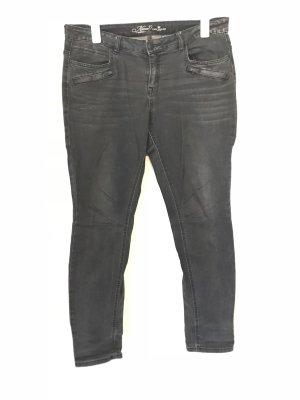 Tom Tailor Jeans Gr.33 Gr.44 schwarz/grau Alexa Skinny
