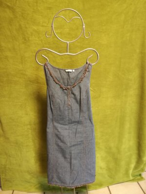 Tom Tailor Jeans Optik Kleid in Größe 38