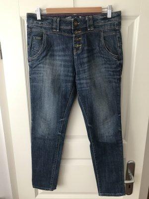 Tom Tailor Jeans boyfriend multicolore coton