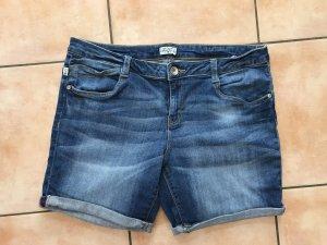 Tom Tailor Pantalón corto de tela vaquera azul