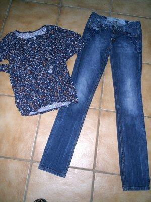 Tom Tailor Jeans und 3 Oberteile Gr. 36