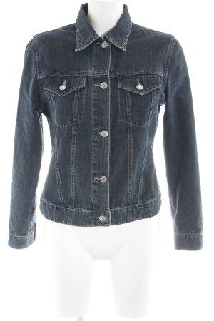 Tom Tailor Jeansjacke blau Casual-Look
