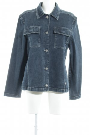 Tom Tailor Jeansjacke blau Casual-Look