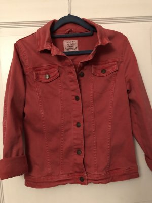 Tom Tailor Jeansjacke rot Gr. S