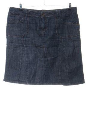 Tom Tailor Jupe en jeans bleu style décontracté
