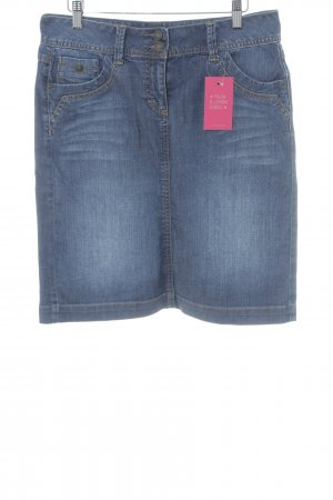 Tom Tailor Jeansrock blau Casual-Look