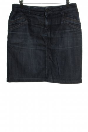 Tom Tailor Jeansrock dunkelblau Casual-Look