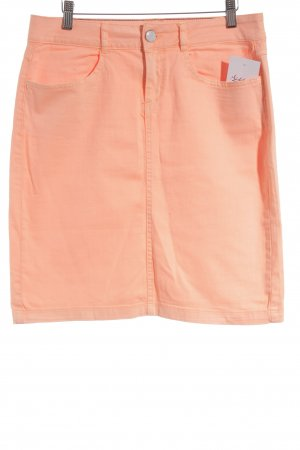 Tom Tailor Jeansrock neonorange Casual-Look