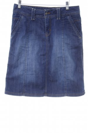 Tom Tailor Jeansrock stahlblau Casual-Look