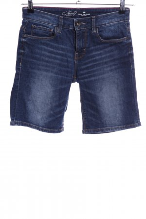 Tom Tailor Jeansshorts blau Casual-Look