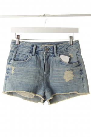 Tom Tailor Jeansshorts hellblau Destroy-Optik