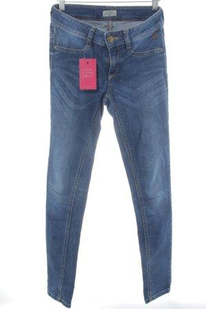 Tom Tailor Jeggings stahlblau Jeans-Optik