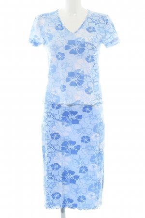 Tom Tailor Twin Set tipo suéter blue flower pattern casual look