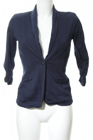 Tom Tailor Jersey blazer donkerblauw casual uitstraling