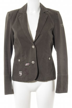 Tom Tailor Jerseyblazer khaki Business-Look