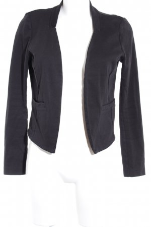 Tom Tailor Jerseyblazer schwarz Casual-Look