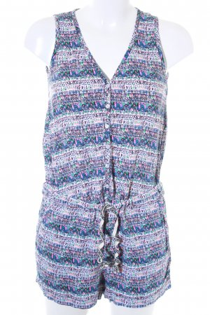 Tom Tailor Jumpsuit abstraktes Muster Casual-Look