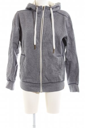 Tom Tailor Kapuzensweatshirt hellgrau meliert Casual-Look