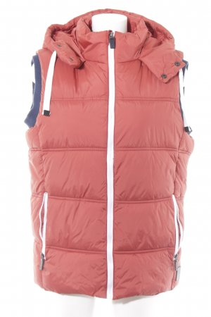 Tom Tailor Hooded Vest russet casual look