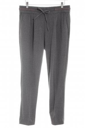 Tom Tailor Peg Top Trousers light grey casual look
