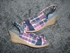 Tom Tailor Keilabsatz Sandaletten Peetoes Wedges Gr. 37