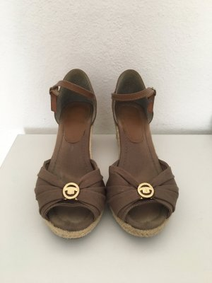 Tom Tailor Keilsandalette Wedges 40 braun