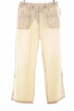 Tom Tailor Khakihose creme Casual-Look