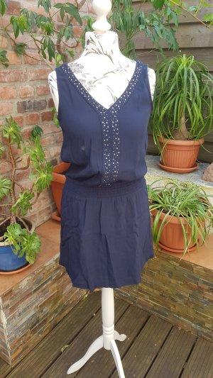 Tom Tailor Chiffon Dress blue-dark blue