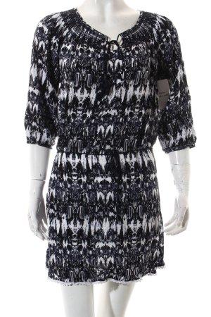 Tom Tailor Kleid weiß-dunkelblau Farbverlauf Beach-Look