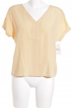Tom Tailor Kurzarm-Bluse apricot Casual-Look
