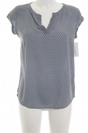 Tom Tailor Kurzarm-Bluse florales Muster Casual-Look