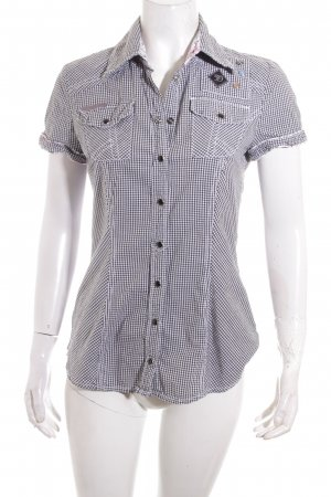 Tom Tailor Kurzarm-Bluse Karomuster Country-Look