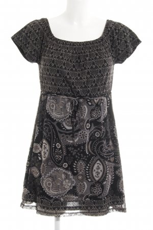 Tom Tailor Kurzarmkleid Paisleymuster Casual-Look