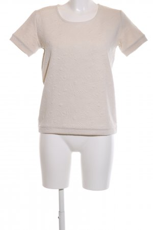 Tom Tailor Jersey de manga corta blanco look casual