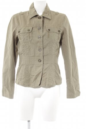 Tom Tailor Kurzjacke khaki Casual-Look