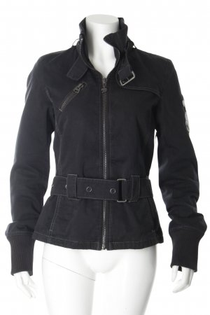 Tom Tailor Kurzjacke schwarz Street-Fashion-Look