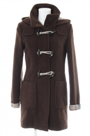 Tom Tailor Cappotto corto marrone stile casual