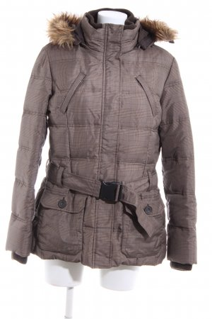 Tom Tailor Short Coat bronze-colored-blue check pattern casual look