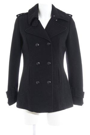 Tom Tailor Manteau court noir style simple